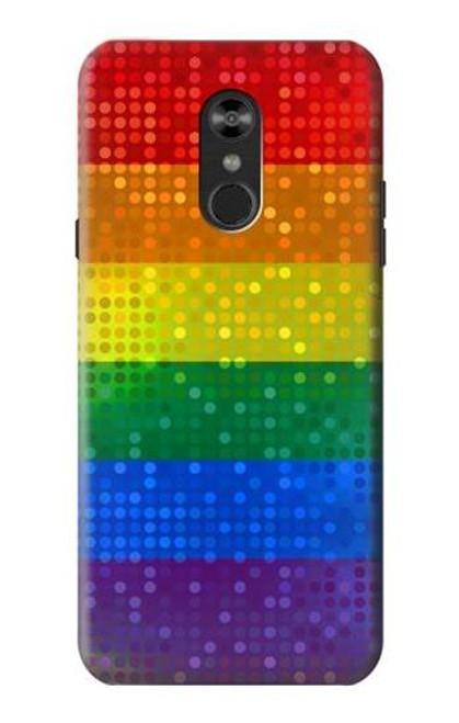 S2683 Rainbow LGBT Pride Flag Case For LG Q Stylo 4, LG Q Stylus