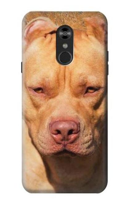 S2903 American Pitbull Dog Case For LG Q Stylo 4, LG Q Stylus