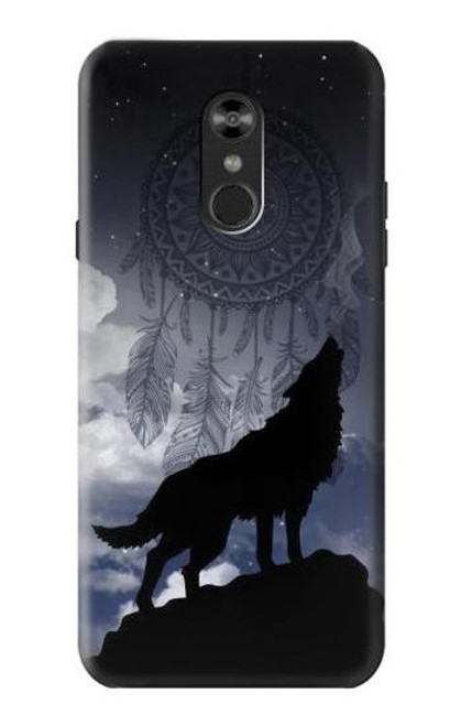 S3011 Dream Catcher Wolf Howling Case For LG Q Stylo 4, LG Q Stylus