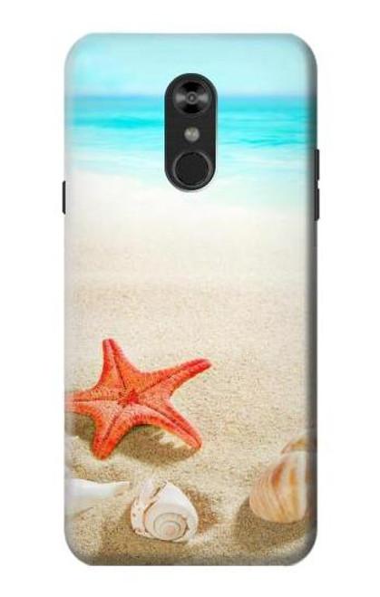 S3212 Sea Shells Starfish Beach Case For LG Q Stylo 4, LG Q Stylus