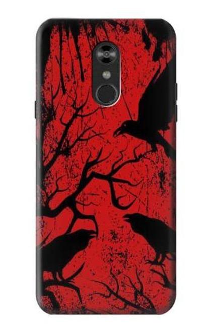 S3325 Crow Black Blood Tree Case For LG Q Stylo 4, LG Q Stylus