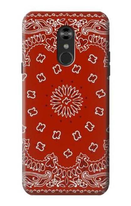S3355 Bandana Red Pattern Case For LG Q Stylo 4, LG Q Stylus