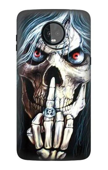 S0222 Skull Pentagram Case For Motorola Moto Z3, Z3 Play