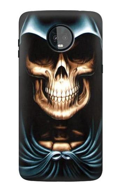 S0225 Skull Grim Reaper Case For Motorola Moto Z3, Z3 Play