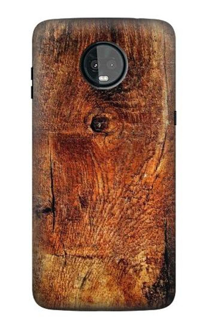 S1140 Wood Skin Graphic Case For Motorola Moto Z3, Z3 Play