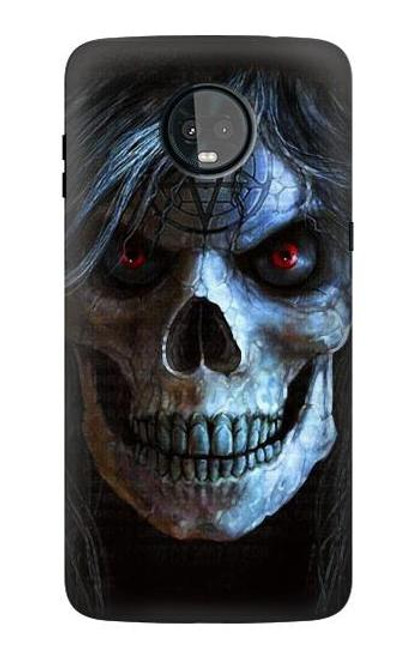 S2585 Evil Death Skull Pentagram Case For Motorola Moto Z3, Z3 Play