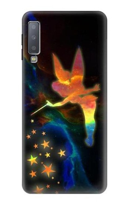 S2583 Tinkerbell Magic Sparkle Case For Samsung Galaxy A7 (2018)