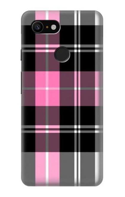 S3091 Pink Plaid Pattern Case For Google Pixel 3