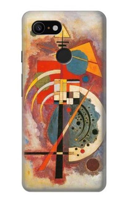 S3337 Wassily Kandinsky Hommage a Grohmann Case For Google Pixel 3