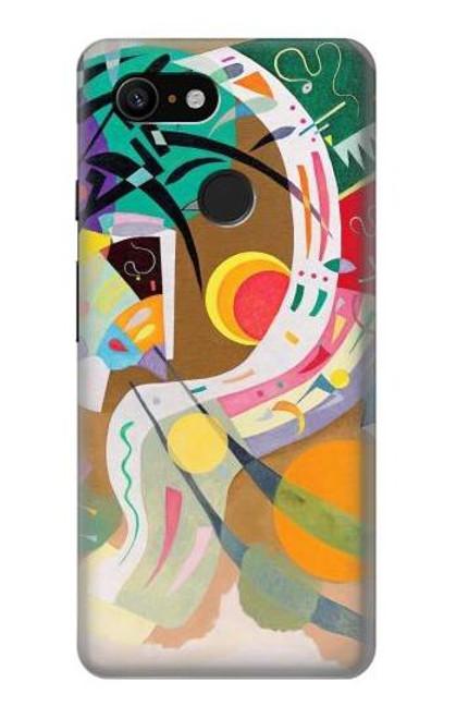 S3346 Vasily Kandinsky Guggenheim Case For Google Pixel 3