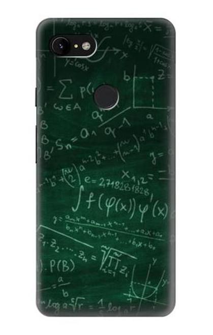 S3190 Math Formula Greenboard Case For Google Pixel 3 XL