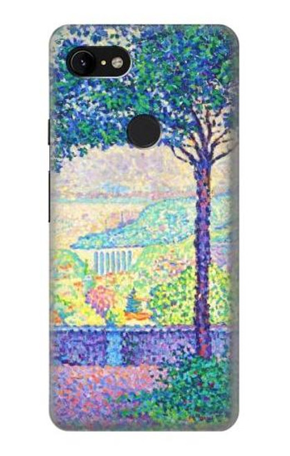 S3349 Paul Signac Terrace of Meudon Case For Google Pixel 3 XL