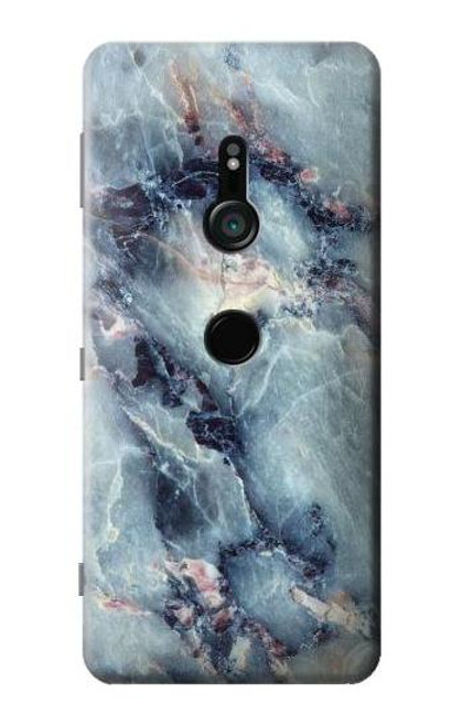 S2689 Blue Marble Texture Graphic Printed Case For Sony Xperia XZ3