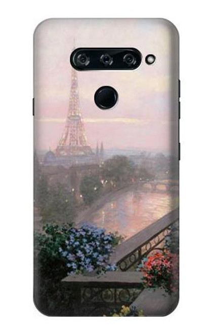 S1443 Terrace in Paris Eifel Case For LG V40, LG V40 ThinQ