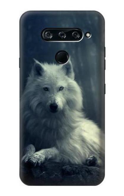 S1516 White Wolf Case For LG V40, LG V40 ThinQ
