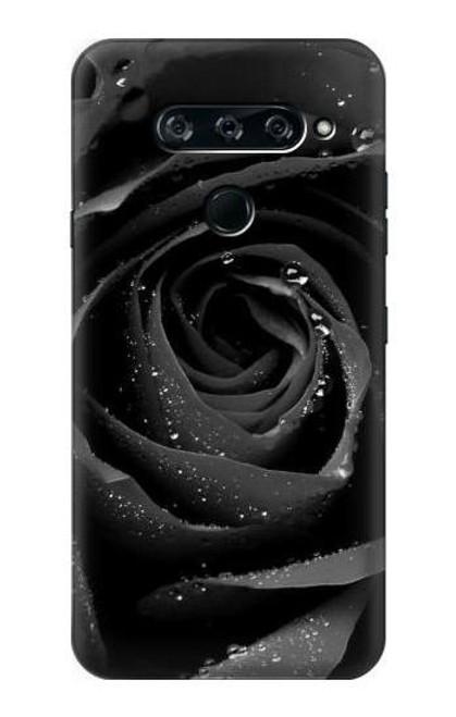S1598 Black Rose Case For LG V40, LG V40 ThinQ