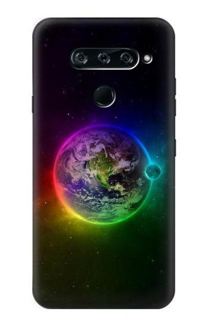 S2570 Colorful Planet Case For LG V40, LG V40 ThinQ