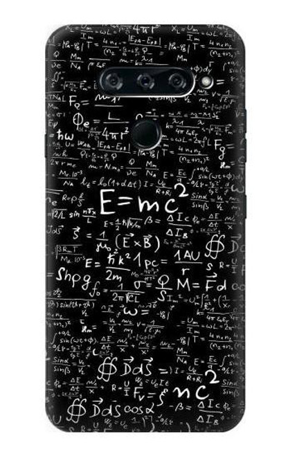 S2574 Mathematics Physics Blackboard Equation Case For LG V40, LG V40 ThinQ