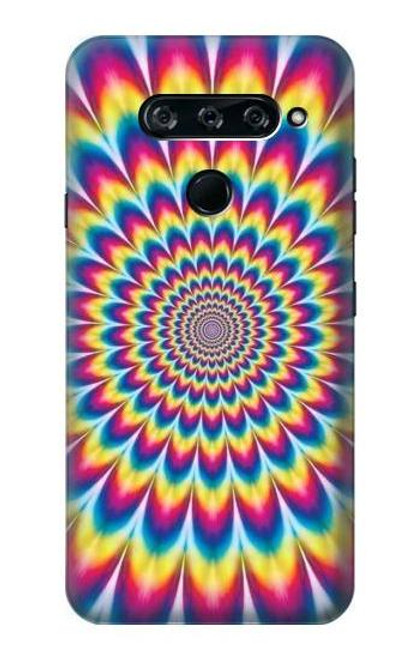 S3162 Colorful Psychedelic Case For LG V40, LG V40 ThinQ