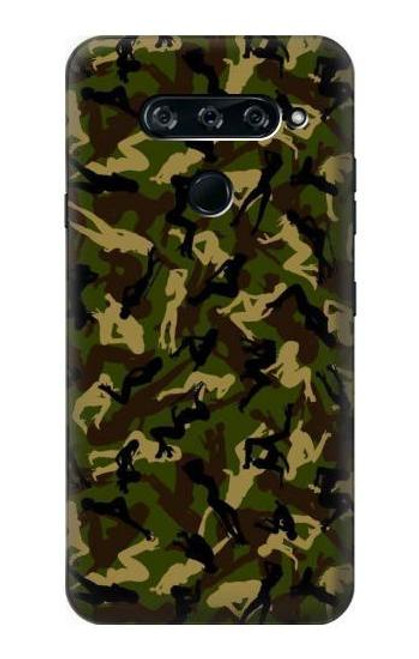 S3356 Sexy Girls Camo Camouflage Case For LG V40, LG V40 ThinQ