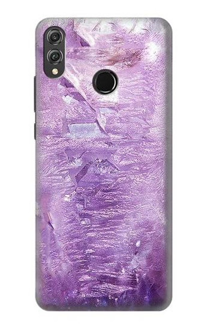 S2690 Amethyst Crystals Graphic Printed Case For Huawei Honor 8X
