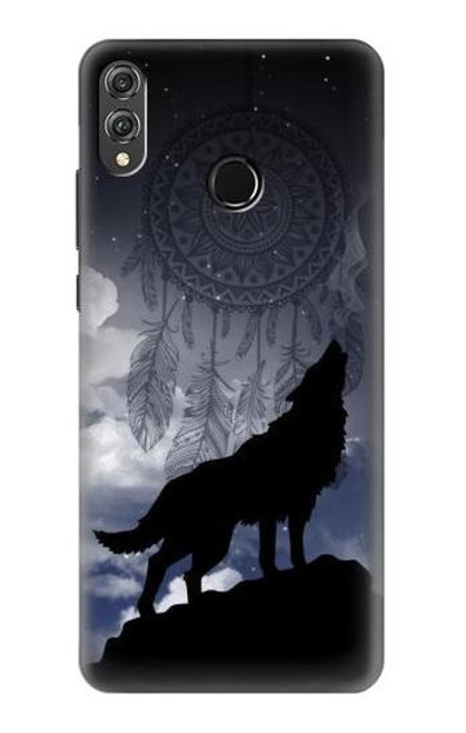 S3011 Dream Catcher Wolf Howling Case For Huawei Honor 8X