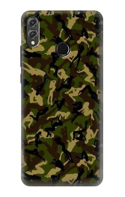 S3356 Sexy Girls Camo Camouflage Case For Huawei Honor 8X