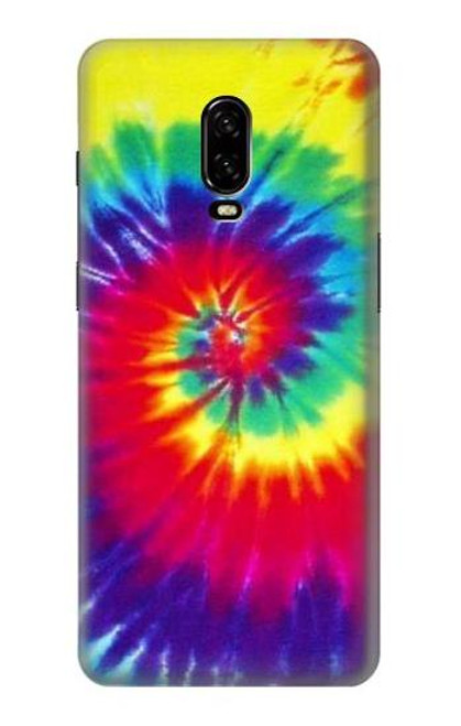 S2884 Tie Dye Swirl Color Case For OnePlus 6T