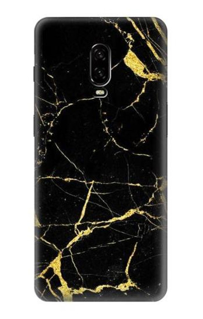 S2896 Gold Marble Graphic Printed Case For OnePlus 6T