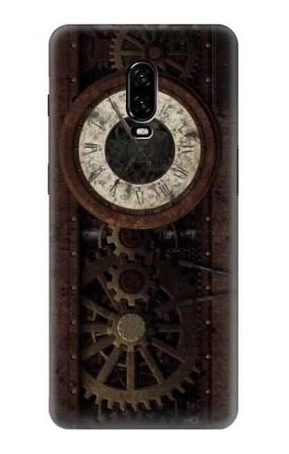 S3221 Steampunk Clock Gears Case For OnePlus 6T