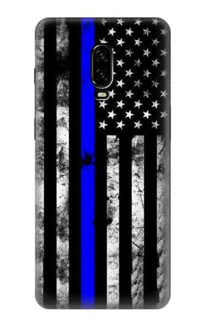 S3244 Thin Blue Line USA Case For OnePlus 6T
