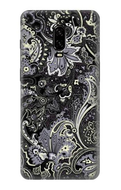 S3251 Batik Flower Pattern Case For OnePlus 6T