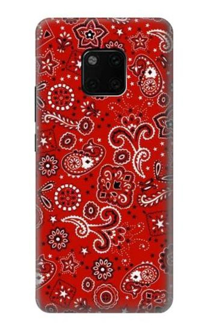 S3354 Red Classic Bandana Case For Huawei Mate 20 Pro