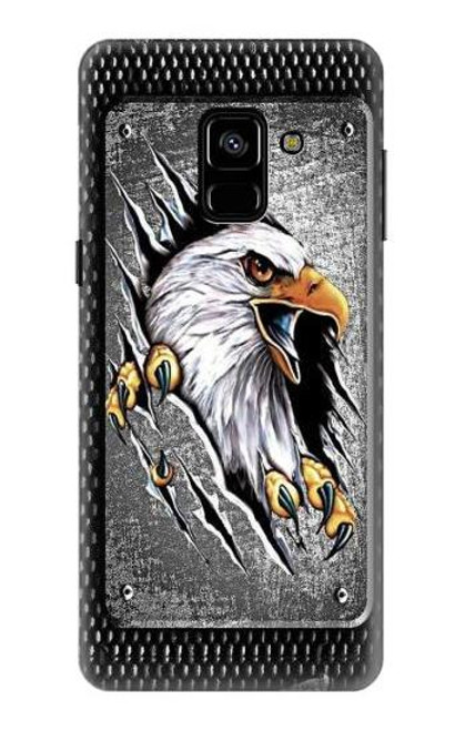 S0855 Eagle Metal Case For Samsung Galaxy A8 (2018)