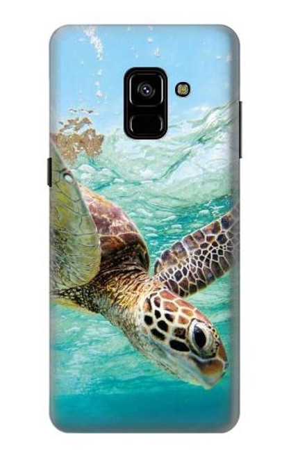 S1377 Ocean Sea Turtle Case For Samsung Galaxy A8 Plus (2018)