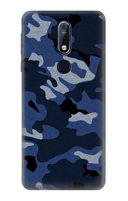 S2959 Navy Blue Camo Camouflage Case For Nokia 7.1