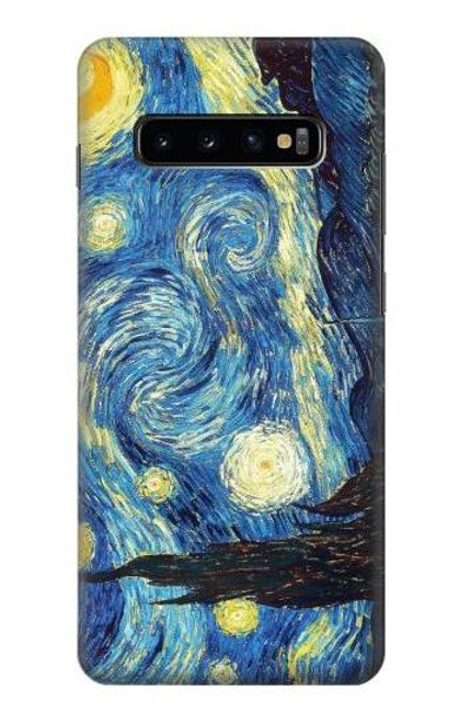 S0213 Van Gogh Starry Nights Case For Samsung Galaxy S10 Plus