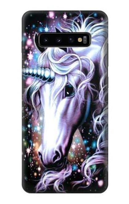 S0749 Unicorn Horse Case For Samsung Galaxy S10 Plus