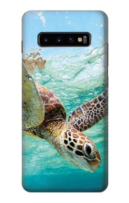 S1377 Ocean Sea Turtle Case For Samsung Galaxy S10 Plus