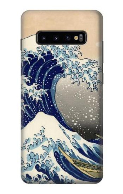 S2389 Hokusai The Great Wave off Kanagawa Case For Samsung Galaxy S10 Plus