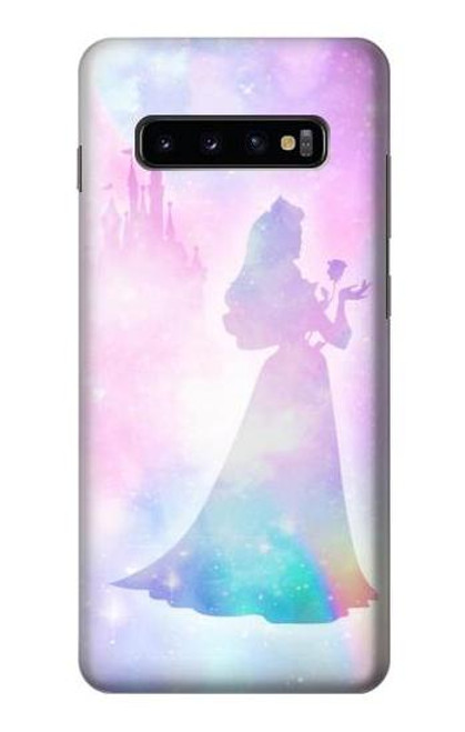 S2992 Princess Pastel Silhouette Case For Samsung Galaxy S10 Plus