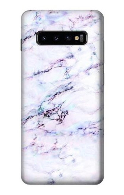 S3215 Seamless Pink Marble Case For Samsung Galaxy S10 Plus