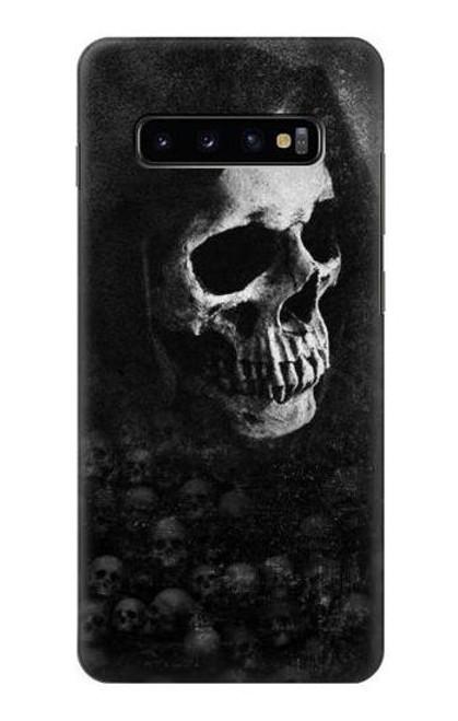 S3333 Death Skull Grim Reaper Case For Samsung Galaxy S10 Plus