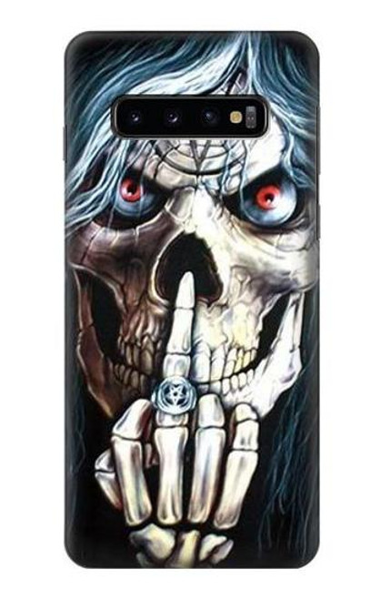 S0222 Skull Pentagram Case For Samsung Galaxy S10