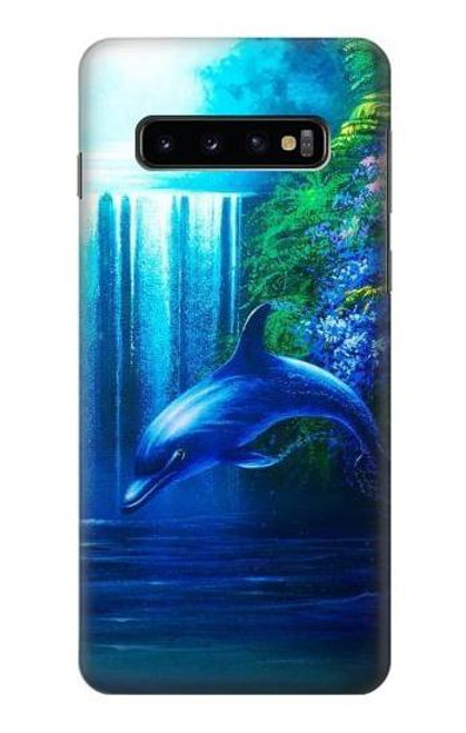 S0385 Dolphin Case For Samsung Galaxy S10