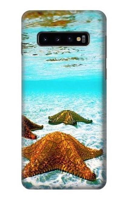 S1679 Starfish Sea Beach Case For Samsung Galaxy S10