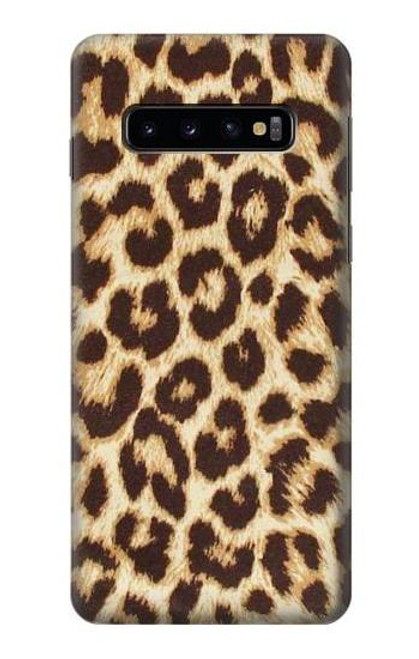 S2204 Leopard Pattern Graphic Printed Case For Samsung Galaxy S10