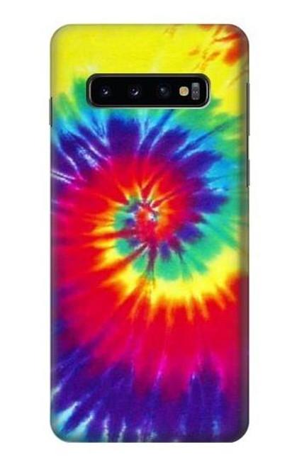 S2884 Tie Dye Swirl Color Case For Samsung Galaxy S10