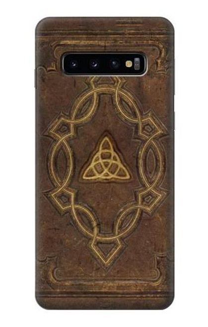 S3219 Spell Book Cover Case For Samsung Galaxy S10