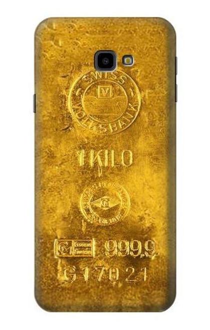 S2618 One Kilo Gold Bar Case For Samsung Galaxy J4+ (2018), J4 Plus (2018)